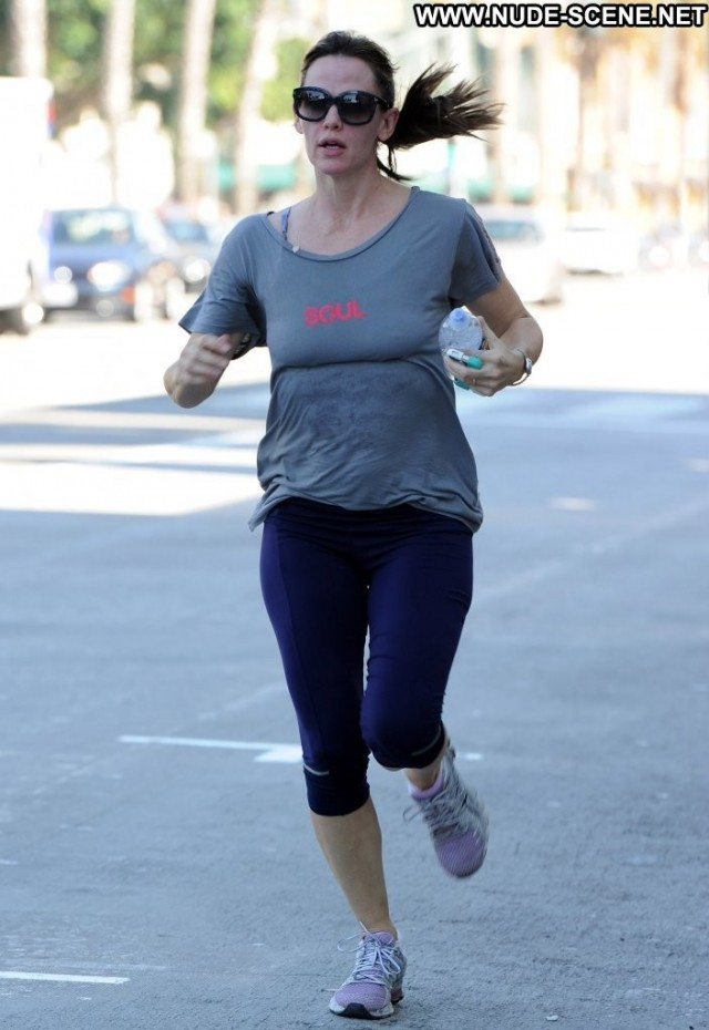 Jennifer Garner No Source High Resolution Jogging Celebrity Babe