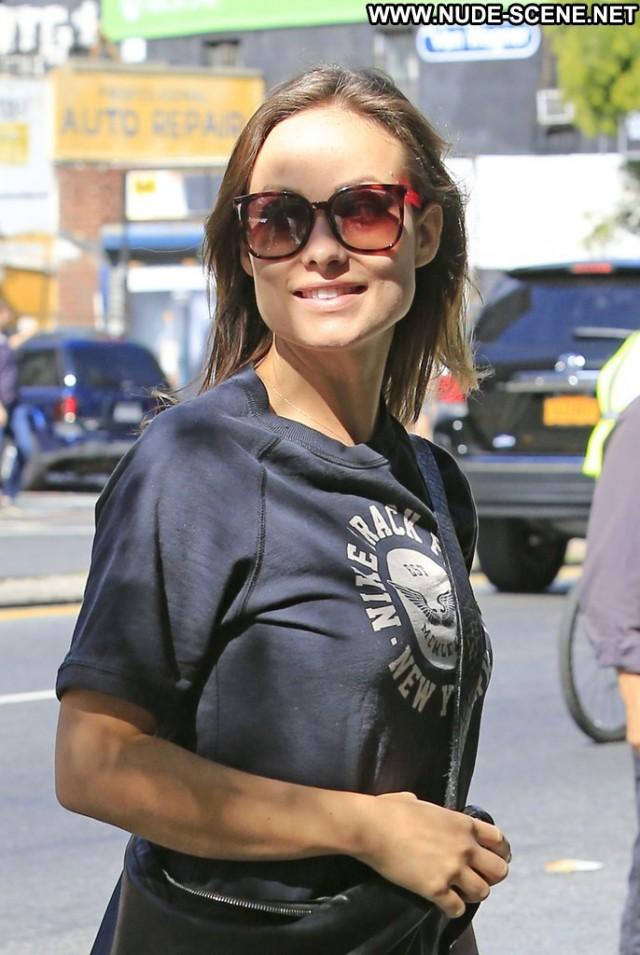 Olivia Wilde New York Posing Hot New York Babe Celebrity Beautiful
