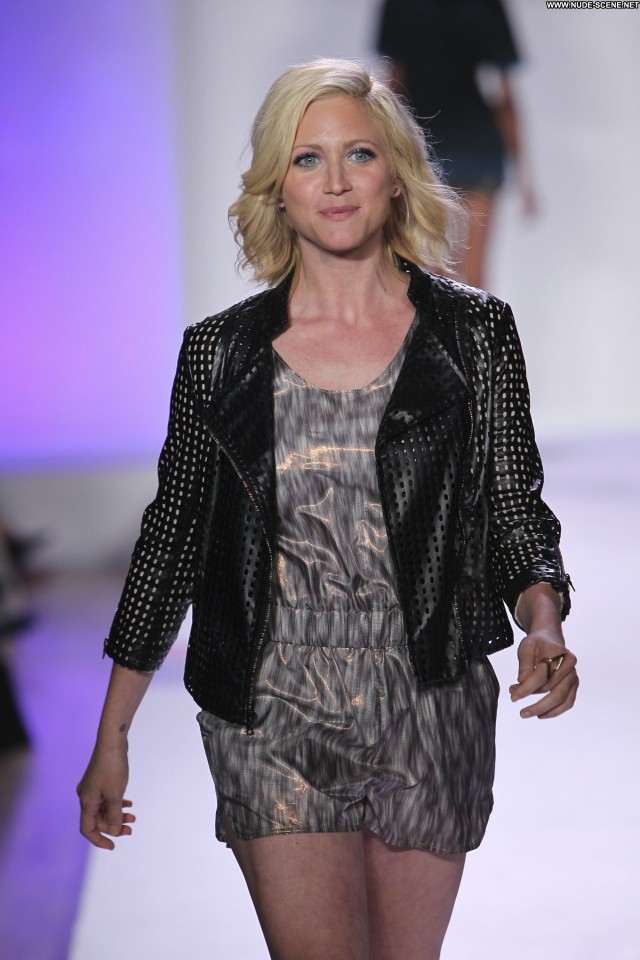 Brittany Snow Fashion Show Celebrity Babe Beautiful Posing Hot