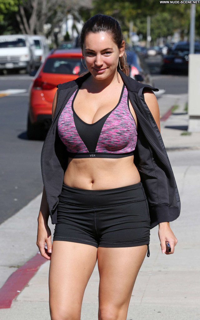 Kelly Brook West Hollywood Shorts Babe Celebrity Sports Beautiful