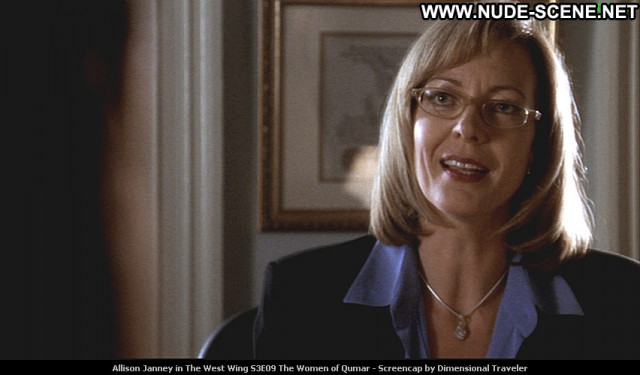Allison Janney The West Wing  Beautiful Celebrity Posing Hot Babe Tv
