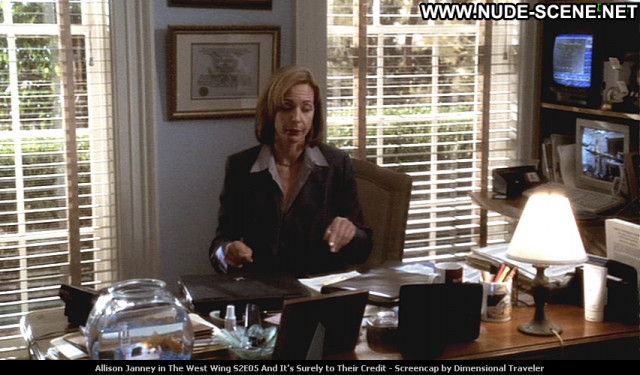 Allison Janney The West Wing Babe Beautiful Posing Hot Celebrity Tv