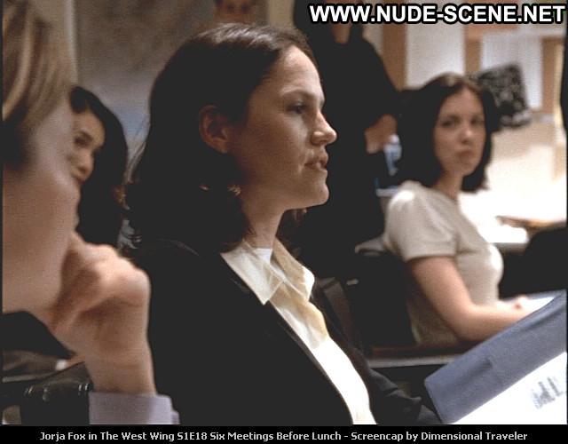 Jorja Fox Deleted Scene Beautiful Babe Tv Series Celebrity Posing Hot