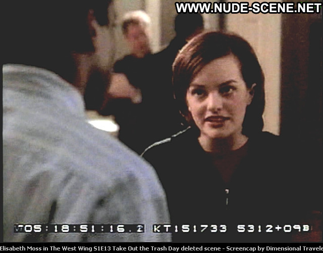 Elisabeth Moss Deleted Scene  Beautiful Tv Series Posing Hot Babe