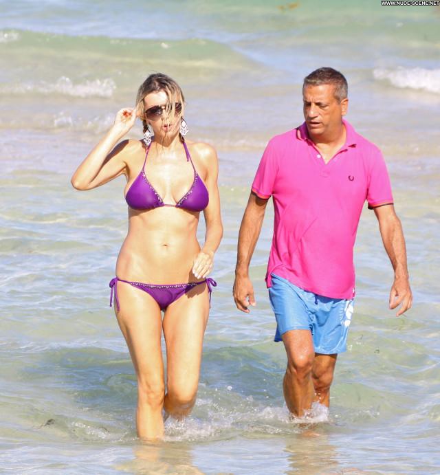 Rita Rusic South Beach Posing Hot Beach Babe Bikini Beautiful