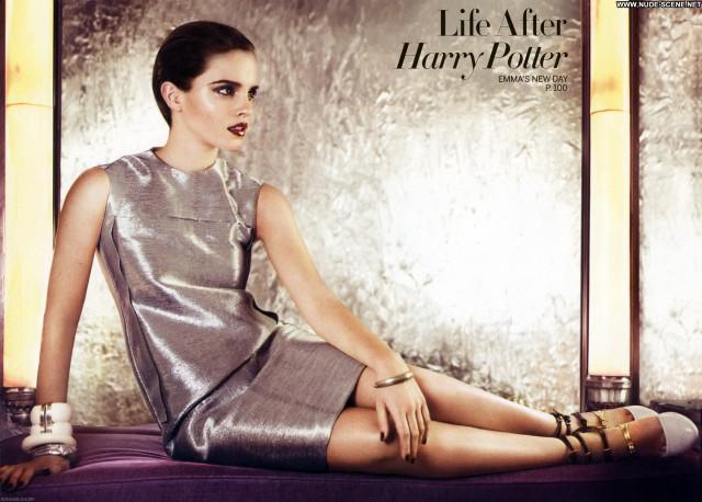 Emma Watson Magazine Posing Hot Scans Babe Celebrity Magazine