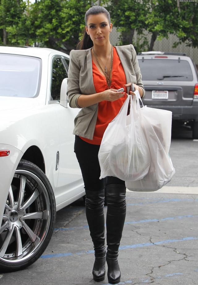 Kim Kardashian Beverly Hills Posing Hot High Resolution Babe