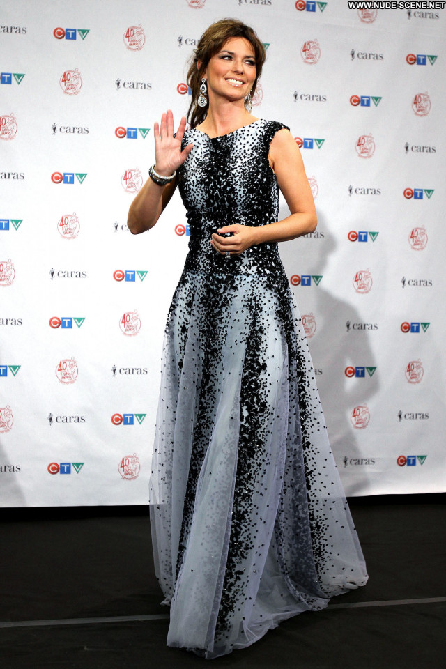Shania Twain High Resolution Awards Posing Hot Babe Celebrity