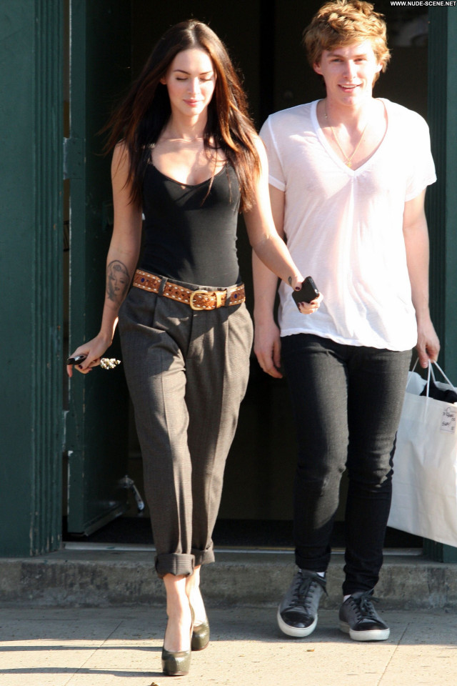 Megan Fox West Hollywood Babe Celebrity Beautiful Hollywood Shopping