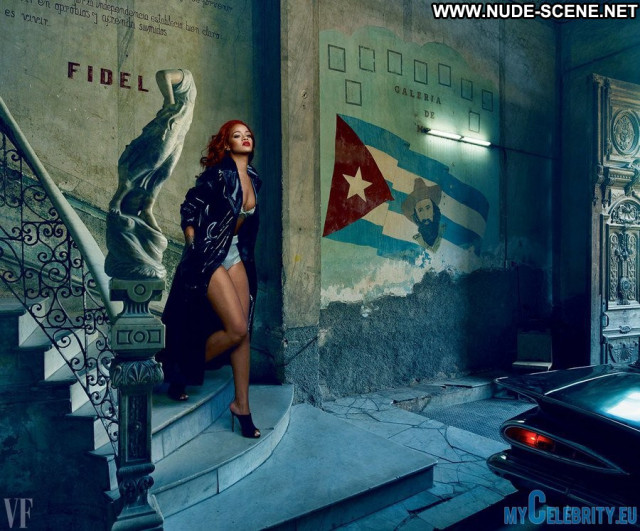Rihanna Vanity Fair Celebrity Beautiful Sexy Posing Hot Nude Babe