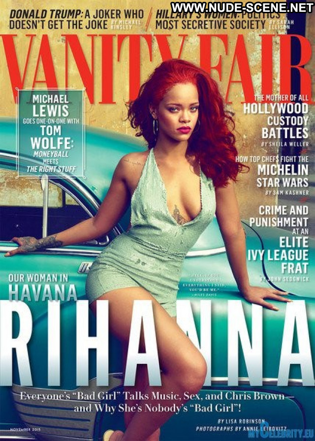 Rihanna Vanity Fair Beautiful Nude Celebrity Babe Sexy Posing Hot