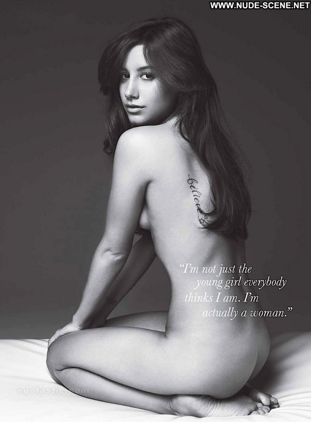 Ashley Tisdale Allure Magazine Posing Hot Nude Beautiful Celebrity