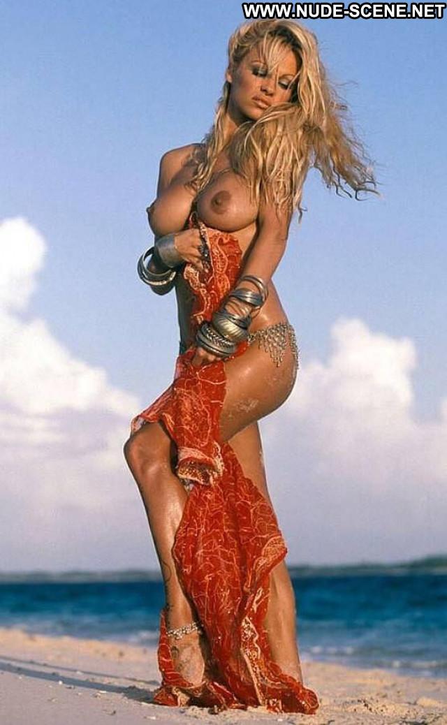 Pamela Anderson No Source Celebrity Posing Hot Female Beautiful Usa