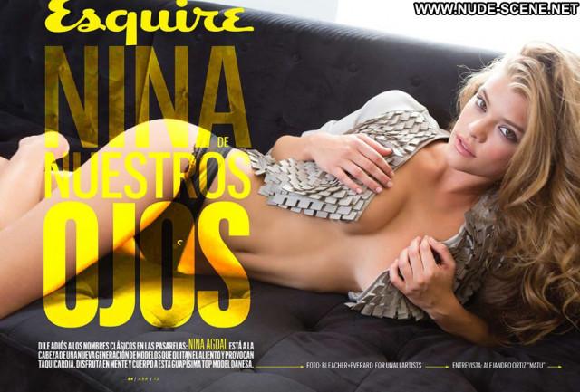 Nina Agdal No Source Mexico See Through Celebrity Magazine Babe