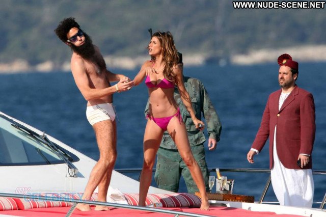 Elisabetta Canalis The Dictator Sexy Beautiful Babe Boat Posing Hot