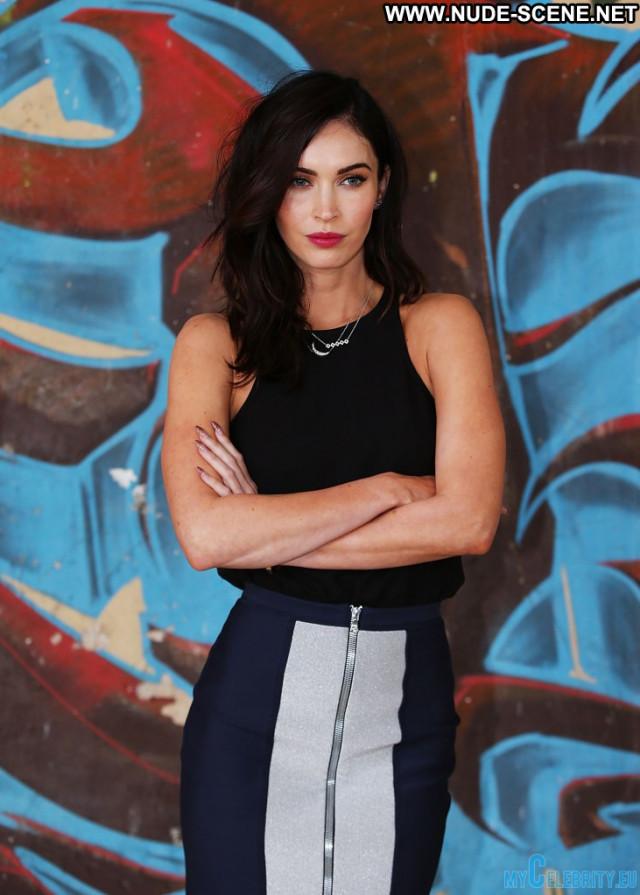 Megan Fox No Source  Mutant Usa Beautiful Babe Celebrity Movie Posing