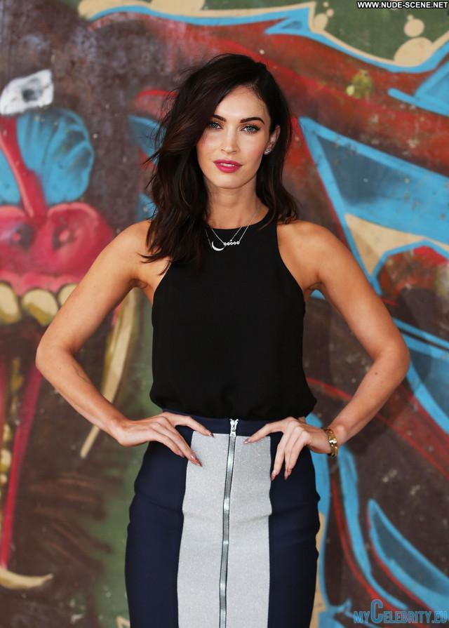 Megan Fox No Source Mutant Beautiful Ninja Celebrity Posing Hot Movie