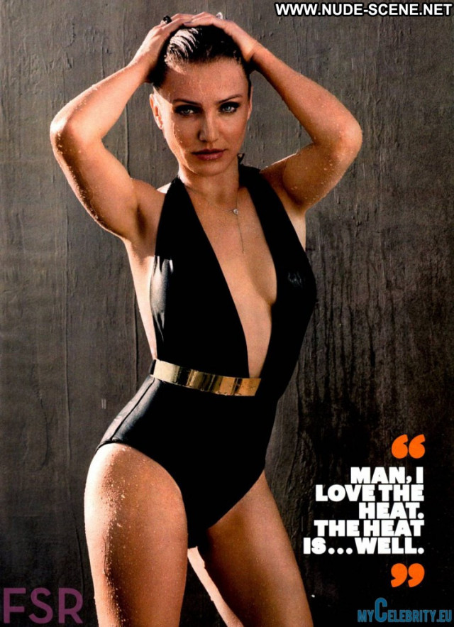 Cameron Diaz Esquire Magazine  Babe Usa Magazine Sexy Celebrity