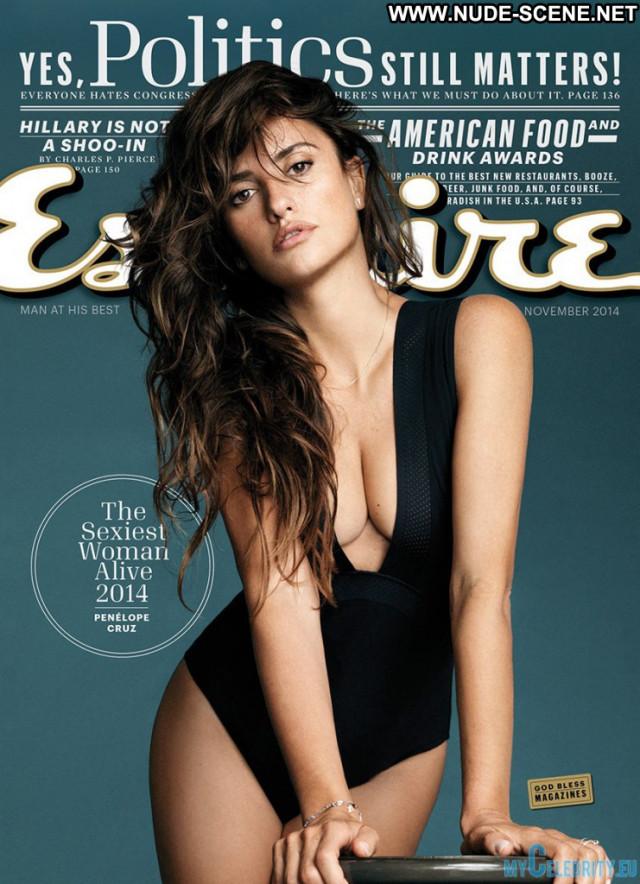 Penelope Cruz Esquire Magazine Babe Beautiful Celebrity Photoshoot