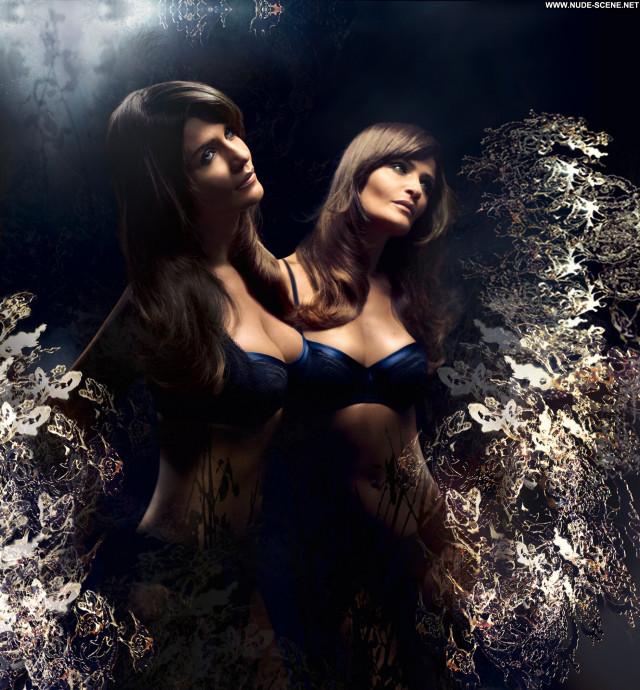Helena Christensen Lingerie Winter Babe Posing Hot Beautiful