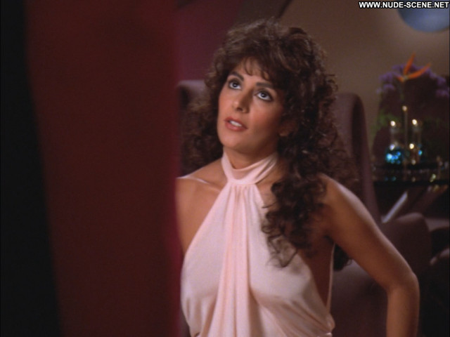 Marina Sirtis Star Trek Celebrity Babe Posing Hot Beautiful